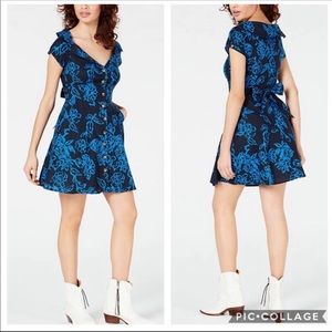 Free People A Thing Called Love Linen Dress